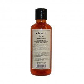 Khadi Herbal Sandalwood Massage Oil - 210ml