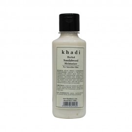 Khadi Herbal Sandalwood Moisturizer - 210ml