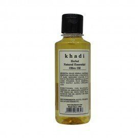 Khadi Herbal Natural Essential Olive Oil - 210ml