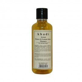 Khadi Herbal Honey & Lemon Juice Shampoo - 210ml
