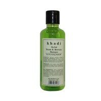Khadi Herbal Neem & Aloevera Shampoo - 210ml