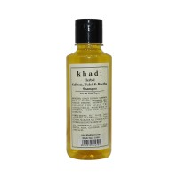 Khadi Herbal Saffron, Tulsi & Reetha Shampoo - 210ml