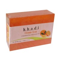 Khadi Herbal Orange Soap - 125g