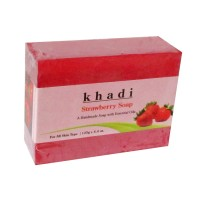 Khadi Herbal Strawberry Soap - 125g