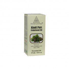 Khadi Pure Herbal Cedarwood Essential Oil - 15ml