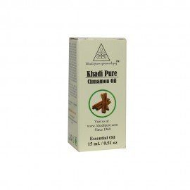 Khadi Pure Herbal Cinnamon Essential Oil - 15ml