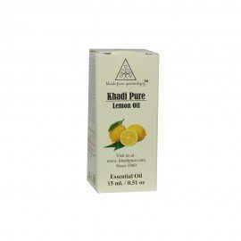 Khadi Pure Herbal Lemon Essential Oil - 15ml