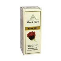 Khadi Pure Herbal Rose Essential Oil - 15ml