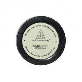 Khadi Pure Herbal Almond & Honey Exfoliating Facial Scrub - 50g