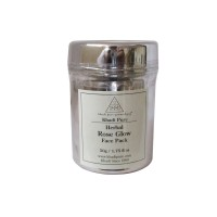 Khadi Pure Herbal Rose Glow Face Pack - 50g