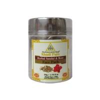 Khadi Pure Herbal Sandal & Rose Face Pack - 50g