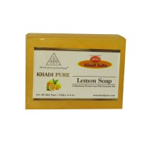 Khadi Pure Herbal Lemon Soap - 125g