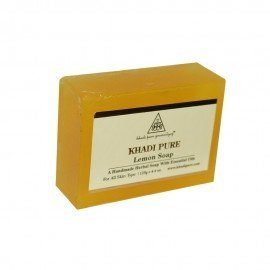 Khadi Pure Herbal Lemon Soap - 125g