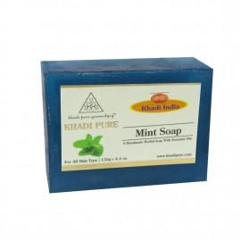 Khadi Pure Herbal Mint Soap - 125g