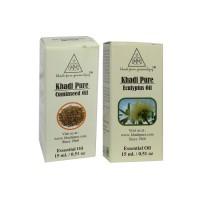 Khadi Pure Cuminseed + Eucalyptus Essential Oil Combo (30ml) Pack 2
