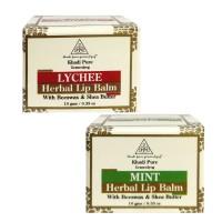 Khadi Pure Lychee And  Mint Lip Balm Combo (20g) Pack 2