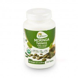 Grenera Organic Moringa Tablets-120 Tablets/Bottle