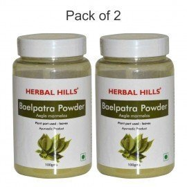 Herbal Hills Baelpatra Powder 100 gms powder (Pack of 2)