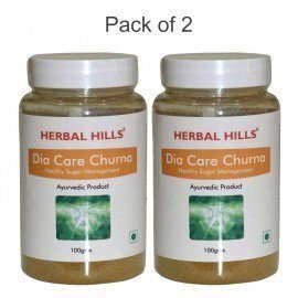 Herbal Hills DIA CARE Churna 200g (Pack of 2 - 100 gms each)
