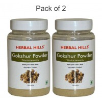 Herbal Hills Gokshur Powder - 100 gms - Pack of 2