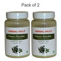 Herbal Hills NEEM Powder 200g (Pack of 2 x 100 gm each)