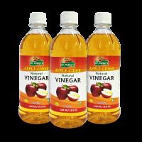 Dr. Patkar's Natural Apple Cider Vinegar Refined (Pack of 3)