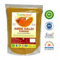 Ambe Haldi Powder - 100 Gm | Amba Haldi | Curcuma Aromatica