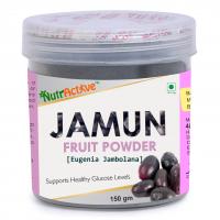 NutrActive Jamun Fruit Powder 150gm