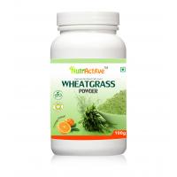 NutrActive Organic Wheat Grass Powder With Orange Flavor, 100gm