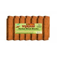 NutrActive™ Vijaysar Herbal Wood Blocks For Diabetes Control, Cholesterol, Arthritis & Weight Loss - (14 Wood Blocks) Pack Of 3