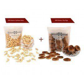 Cashew 200 gms + Anjeer 200 gms