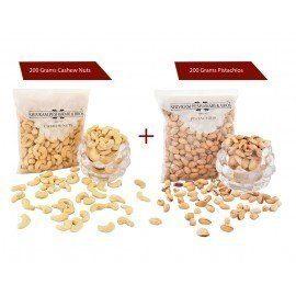 Cashew 200 gms + Pista 200 gms