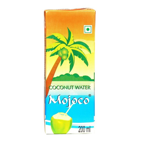 MOJOCO Delicious Natural Tender Coconut Water Energy Drink (200 Ml) (Pack Of 15)