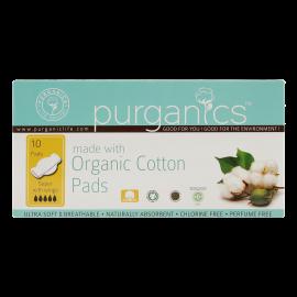 Purganics Organic Cotton Pad Super