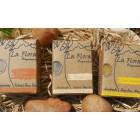 """""""Flora Man"""" - Combo Gift set of 3 Refreshing Handmade Soaps for Men"""