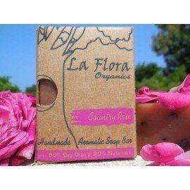 COUNTRY ROSE Handmade Aromatic Handmade Soap Bar 100g
