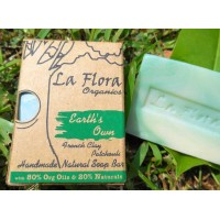 """""""Earth Own"""" - French Green Clay & Patchouli Luxury Handmade Soap Bar 100g"""