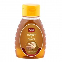 Safa Honey with Ginger, Natural Raw Unheated, Unpasteurized, 250gm