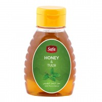 Safa Honey with Tulsi, Natural, Unheated, Unpasteurized 250 gm