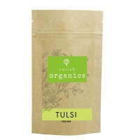 Sorich Organics | Tulsi Infusion Tea | Pure Herb Popular as Herbal / Ayurvedic Tea and Herbal supplement ( 100 Gm )