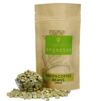 SorichOrganics Green Coffee Beans, Weight Loss Supplement / Superfood - 400 Gm