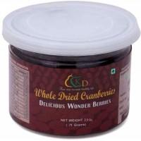 Premium Whole Dried Cranberries - 2.5 Oz (71 gms)