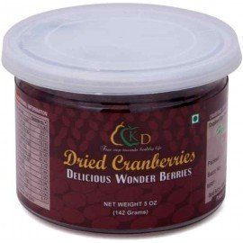 Kenny Delights Dried Cranberries - 5 Oz (142 gms)