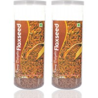 Kenny Delights FLAX SEEDS (Pack Of 2 Cans)