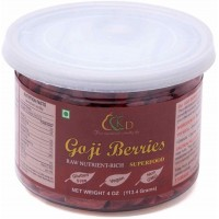 Kenny Delights Dried Goji Berries - 4 Oz (113.2 grams)