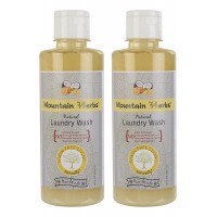 Mountain Herbs Natural Laundry Wash 300 ml each 2 bottles