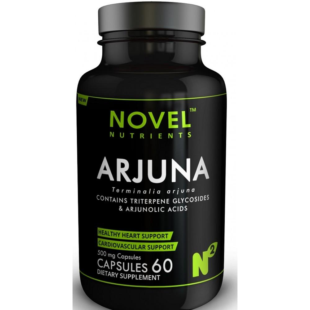 Buy Novel Nutrients Arjuna 500mg Capsules Buy