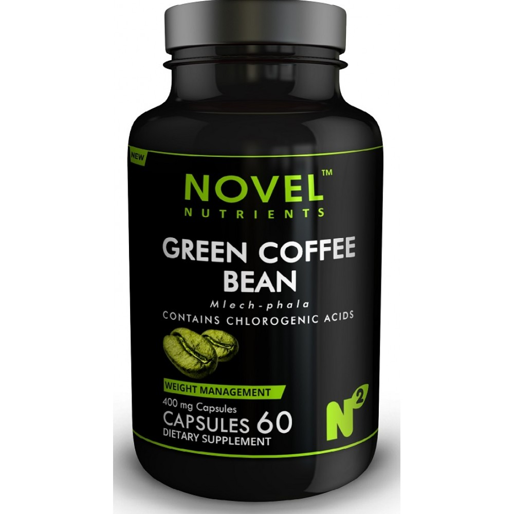 Buy Green Coffee Bean 500 Mg 60 Capsules Weight Management Online India Buy Novel Nutrients