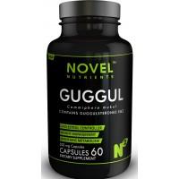 Novel Nutrients GUGGUL 500 mg Capsules (60) - Cholesterol Management