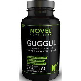 Novel Nutrients GUGGUL 500 mg Capsules (60) - Cholesterol Management